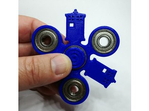 Police Box Spinner (resembles a Tardis)