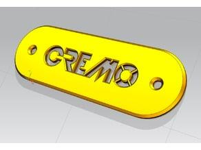 """Coperchio """"CREMO"""" per copri batteria del basso elettrico IBANEZ SR900"""