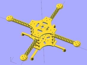 Ekobots - Quadcopter frame version 2.0.
