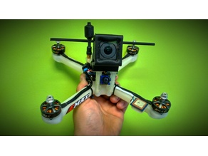 """Drone Racer/long 6"""" slightly stretched"""
