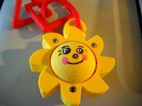 baby toy happy sun spinner