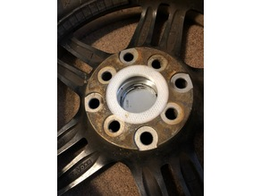 Toyota Mr2 54mm to 73mm aftermarket hub centric ring