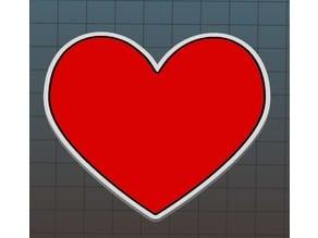 Multi-Color Valentine's Heart