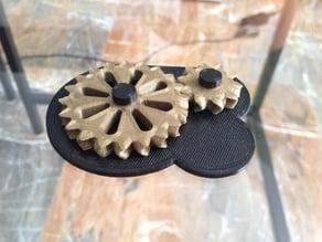 Herringbone-like gearbox