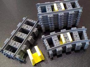 LEGO Train Tracks organizer