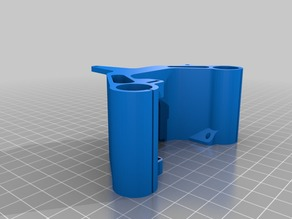 Anet E3D x-Carriage (modified removed endstop mount and reinforced belt mounts)