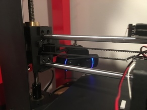 Webcam Z Holder - Modified to work with Wanhao i3 Plus / Monoprice Select Plus