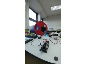 Inverted Inertia Wheel Pendulum - Control algorithm testing setup