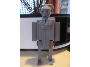 """Cyberman Accessories for """"Buildable Robot"""""""