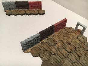 Gloomhaven Variety of Miniature Walls