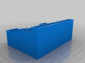 Desk organizer with room for 3x3 sticky note pad