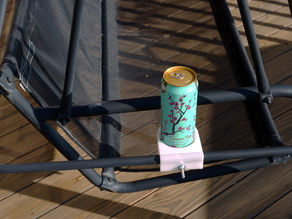 Cup Holder for a Porch Swing