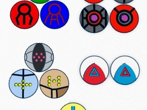 Hoenn Legendary Pokemon Badges