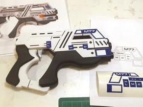 Vinyl Cut Graphics for the Mass Effect Pistol