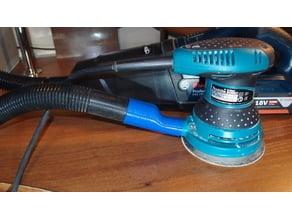Vacuum cleaner adaptor to Makita orbital sander