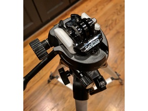 32mm tripod base with GoPro quick release