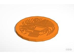 Circuitboard Drink Coaster