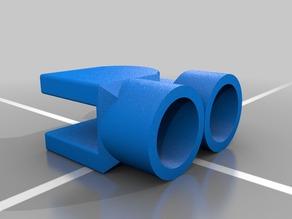 3/4 Inch PVC Pipe Hinge - 180° rotation