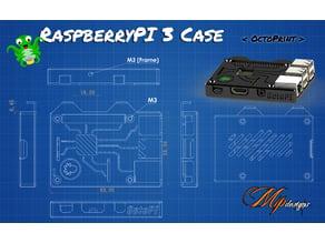 RaspberryPI 3 Case < OctoPrint>