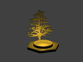 Pine Shadow Candle