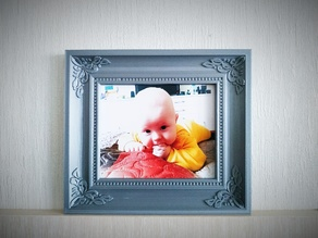 Picture frame for 10x15 photo
