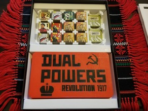 Dual Powers: Revolution 1917 Board Game Insert
