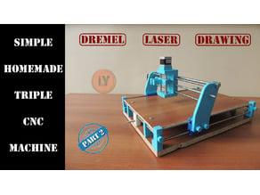TRIPLE CNC MACHINE - Part 2