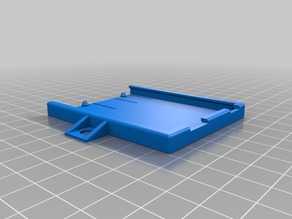 Arduino Uno Protective BasePlate with flaps and mounting holes