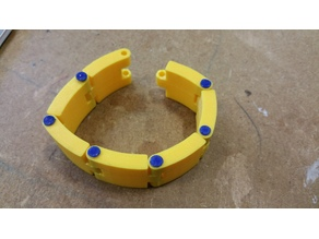 22mm Watch Strap with Filament joints