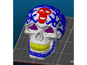 Celtic Skull for Multi Extrusion