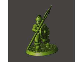 28mm - Orc / Goblin / Hobgoblin with Spear / Pike
