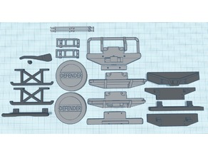 RC4WD 1/18 D90 Parts and accessories