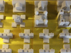 Single Player Sheet for Emphes Castle Chess Set