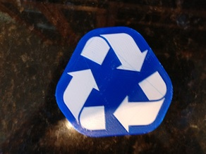 2-Color Recycling Logo
