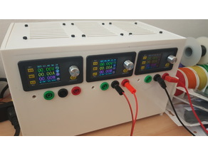 Triple bench power supply with Ruideng DPS5020 and DPS5015