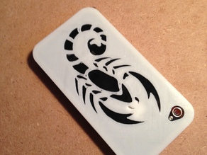 Scorpion Iphone 4 Snap Fit Case/Bumper