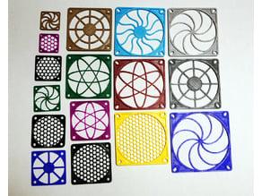 Fan Grilles, 30, 40, 50, 60, 70, 80, 92 & 120 mm
