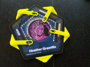 """""""Windowed Claws"""": 3D Printed Character Tracks for Betrayal at the House on the Hill"""