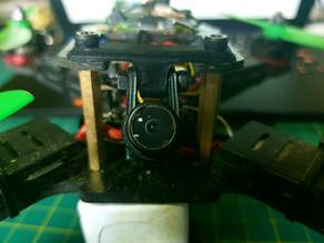 Universal 30mm FPV Quad Camera Support
