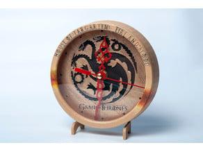 Game of Thrones Clock
