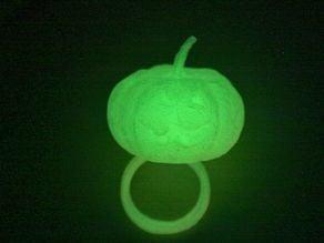 Glow in the Dark Halloween Ring