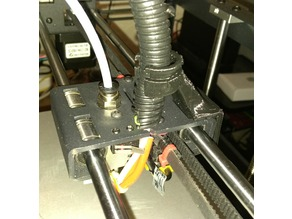 P905 Extruder Wire Support