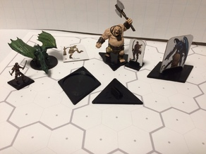 Hex Base Adapters for The Fantasy Trip RPG
