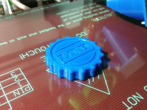 GoPro fastening knob
