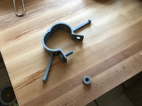 Fully 3D Printed Hinged Clamp With Source
