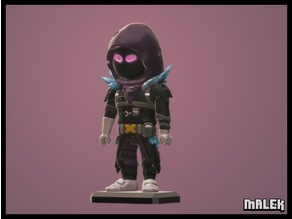 Fortnite Raven Mini Figure