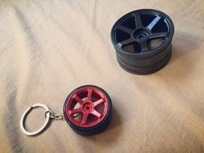 wheel keychain or R/C