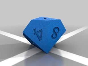 D10 Polyhedral Die