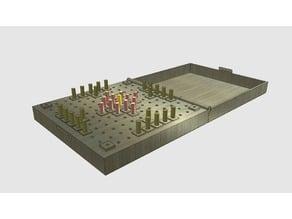 Hnefatafl - Viking Board Game - Travel Version