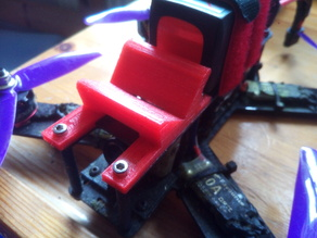 Lisam 210 mini GoPro Mount with Velcrostrap channel